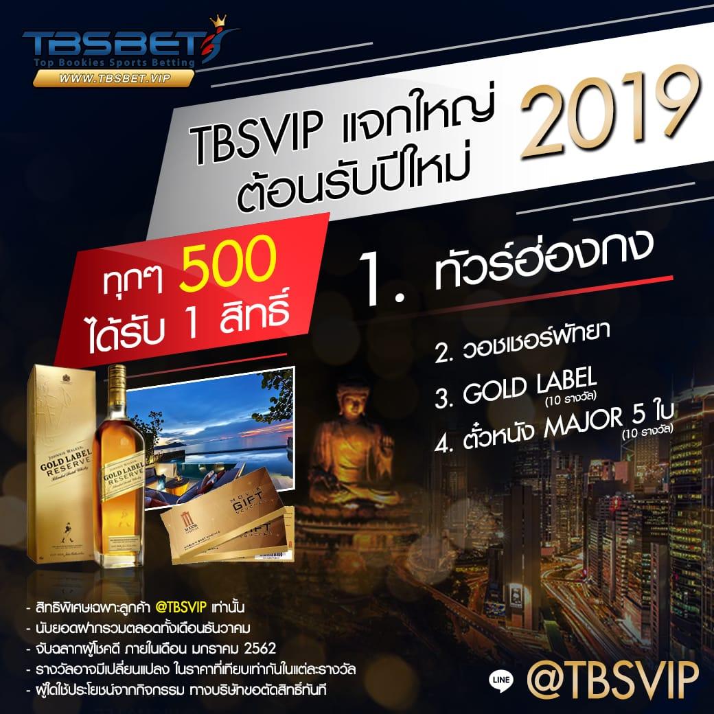 ประกาศรางวัล TBSVIP แจกใหญ่!!